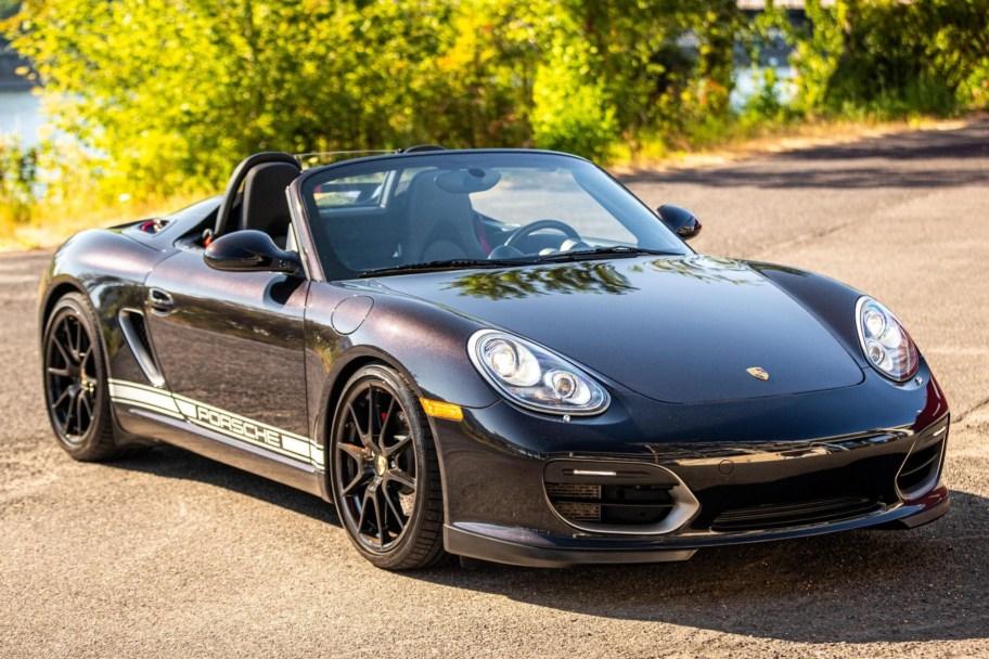 24k-Mile 2011 Porsche Boxster Spyder 6-Speed