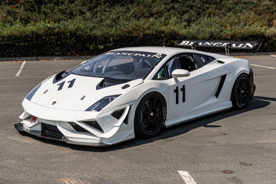 2013 Lamborghini Gallardo LP 570-4 Super Trofeo Race Car