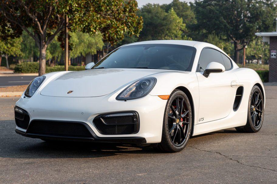 2016 Porsche Cayman GTS 6-Speed