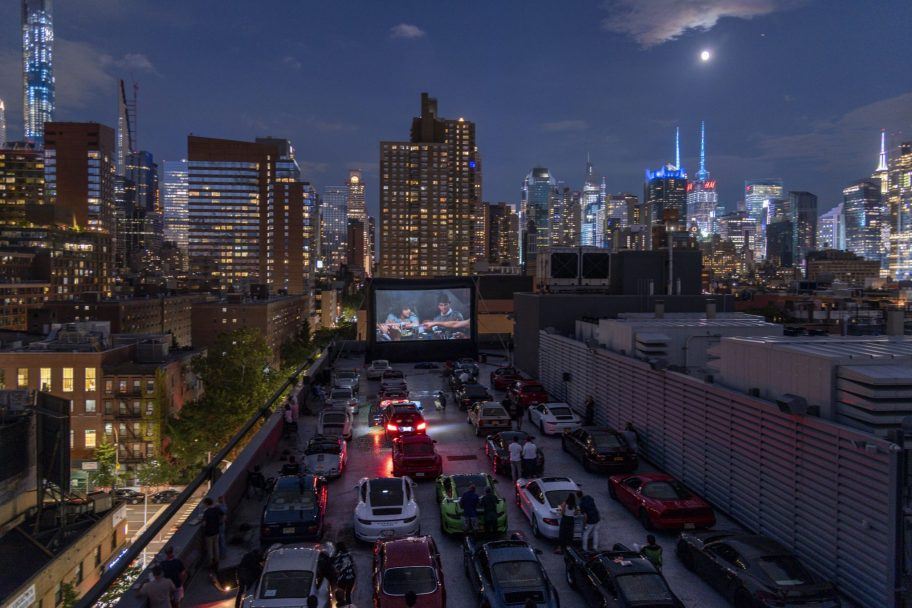 """Event Coverage: CarParkNYC Drive-In Showing of """"Risky Business"""""""