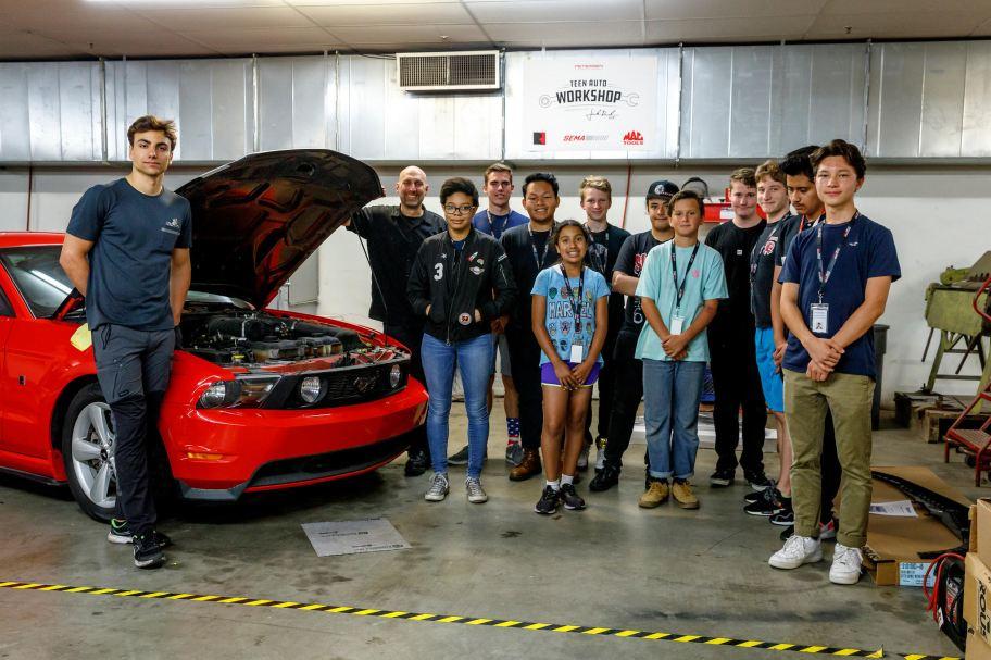Petersen Gala Bruce Meyer Automotive Scholarship Education Match