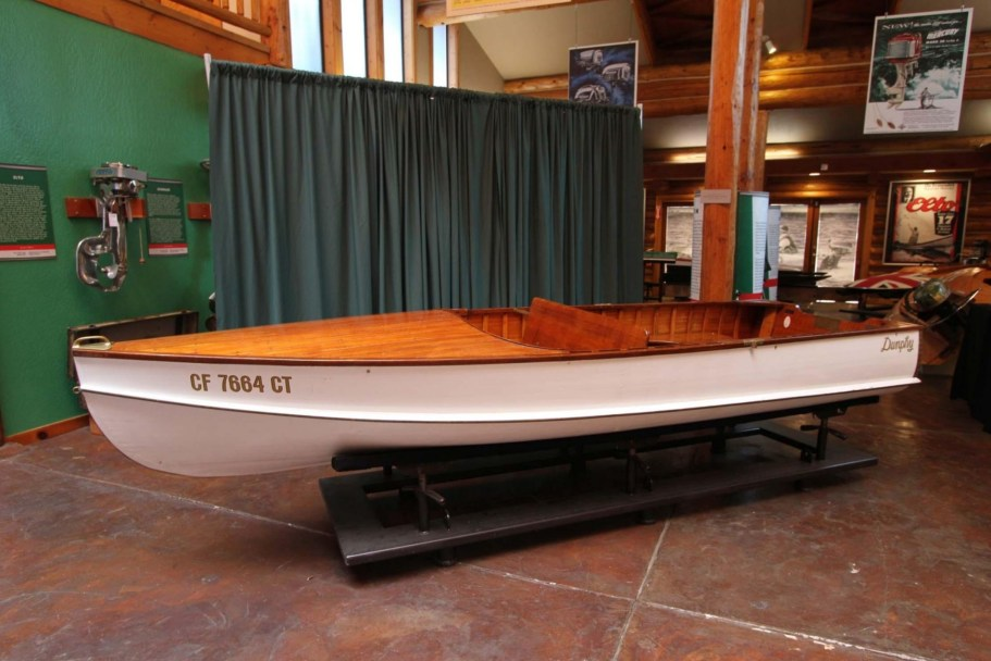 No Reserve: 1940 Dunphy 14' Sand Dab Wooden Boat