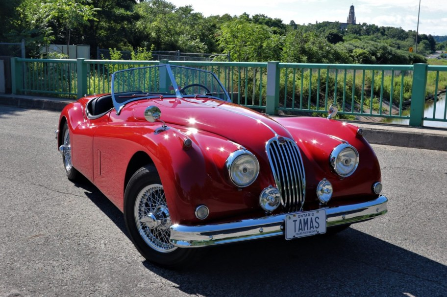 1955 Jaguar XK140 Roadster
