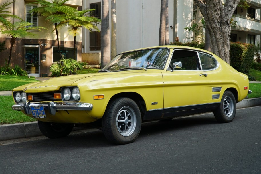 1972 Mercury Capri V6 4-Speed