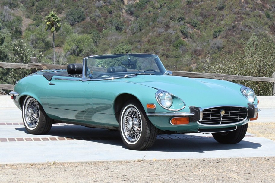 39-Years-Owned 1973 Jaguar XKE Roadster V12 4-Speed