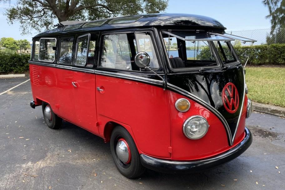 1973 Volkswagen Bus 23-Window Samba Conversion
