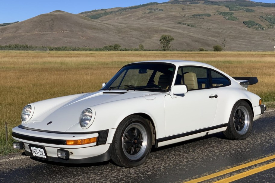 15k-Mile 1983 Porsche 911SC Coupe