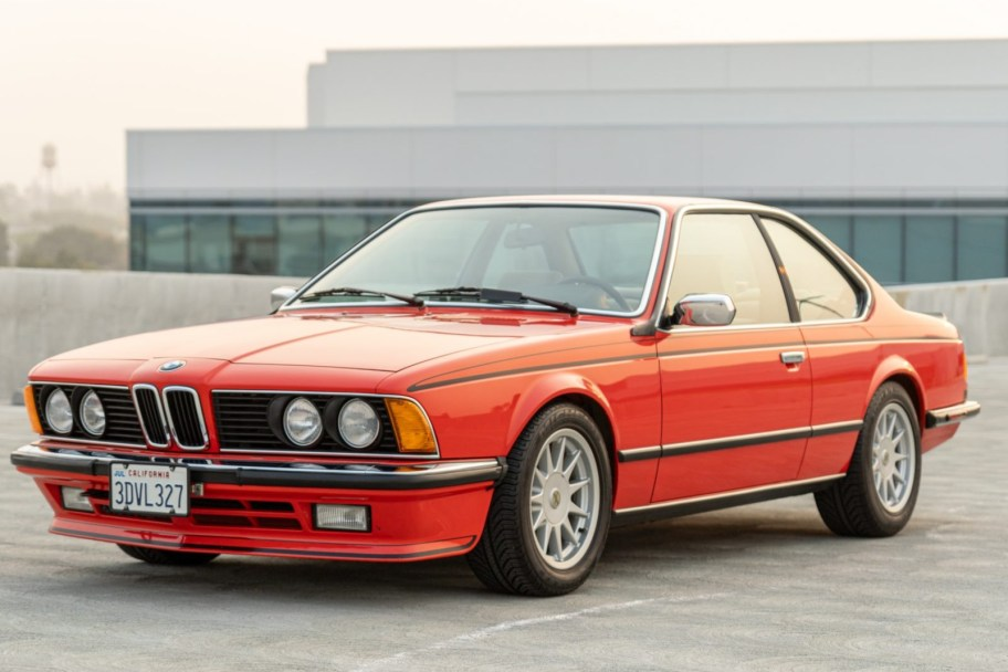 13k-Mile Euro 1985 BMW 635CSi 5-Speed