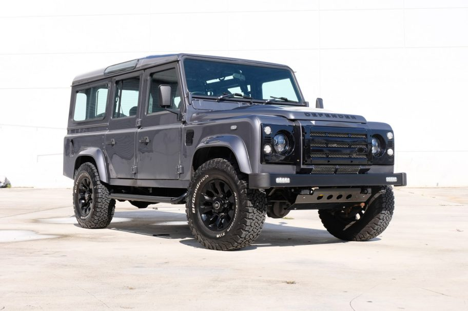 No Reserve: Modified 1991 Land Rover Defender 110