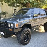 1992 Toyota Hilux Crew Cab 4x4 5 Speed For Sale On Bat Auctions Sold For 16 100 On October 28 2020 Lot 38 434 Bring A Trailer