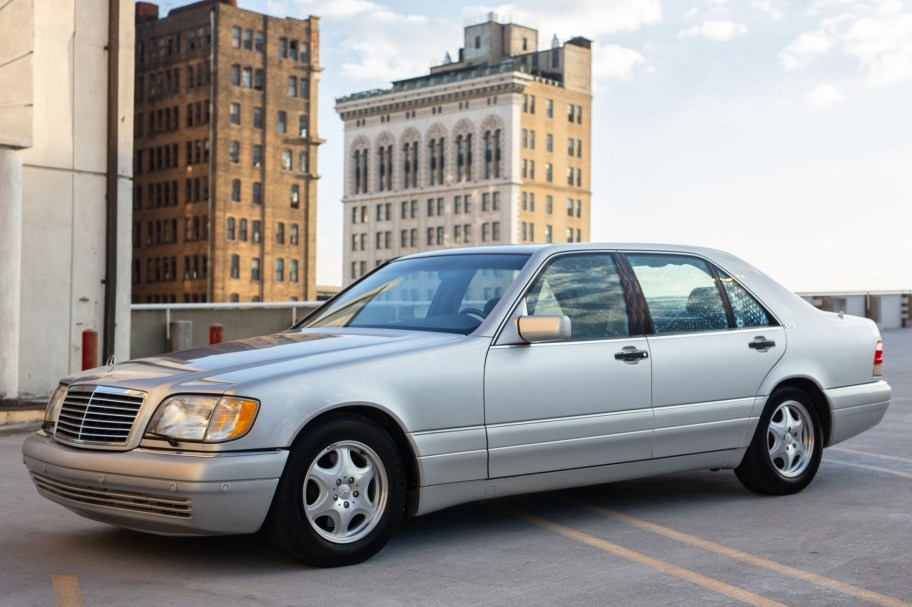 No Reserve: 19k-Mile 1997 Mercedes-Benz S600
