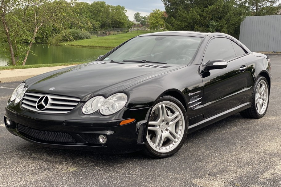 31k-Mile 2006 Mercedes-Benz SL55 AMG P30 Performance Package