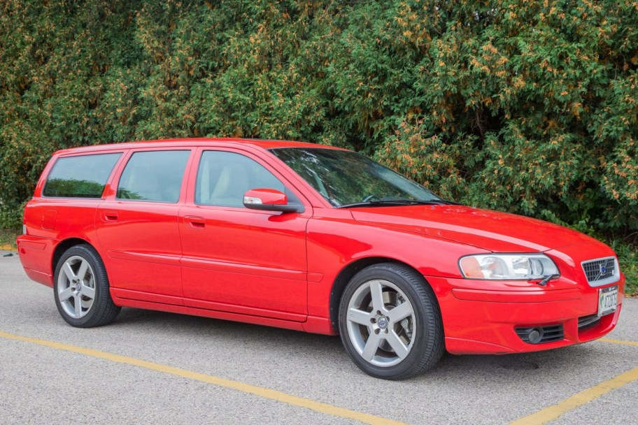 No Reserve: Original-Owner 2007 Volvo V70R 6-Speed