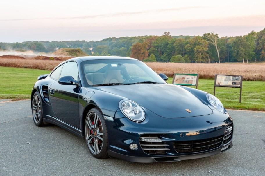 No Reserve: 31k-Mile 2010 Porsche 911 Turbo Coupe 6-Speed