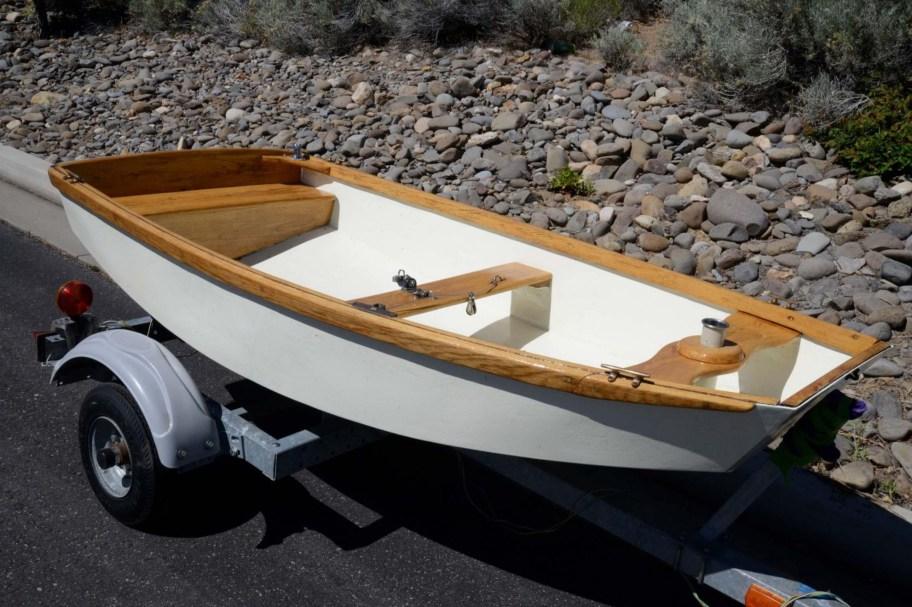 No Reserve: 1960s Naples Sabot Sailboat