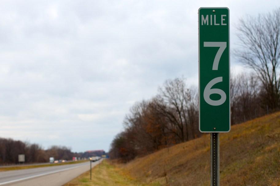 sludgo's Mile Markers: Mile 76