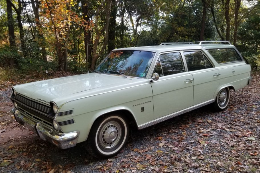 One-Family-Owned 1966 AMC Ambassador 990 Cross Country