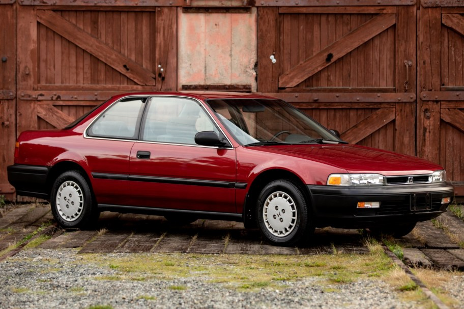 No Reserve: 28k-Mile 1990 Honda Accord LX Coupe