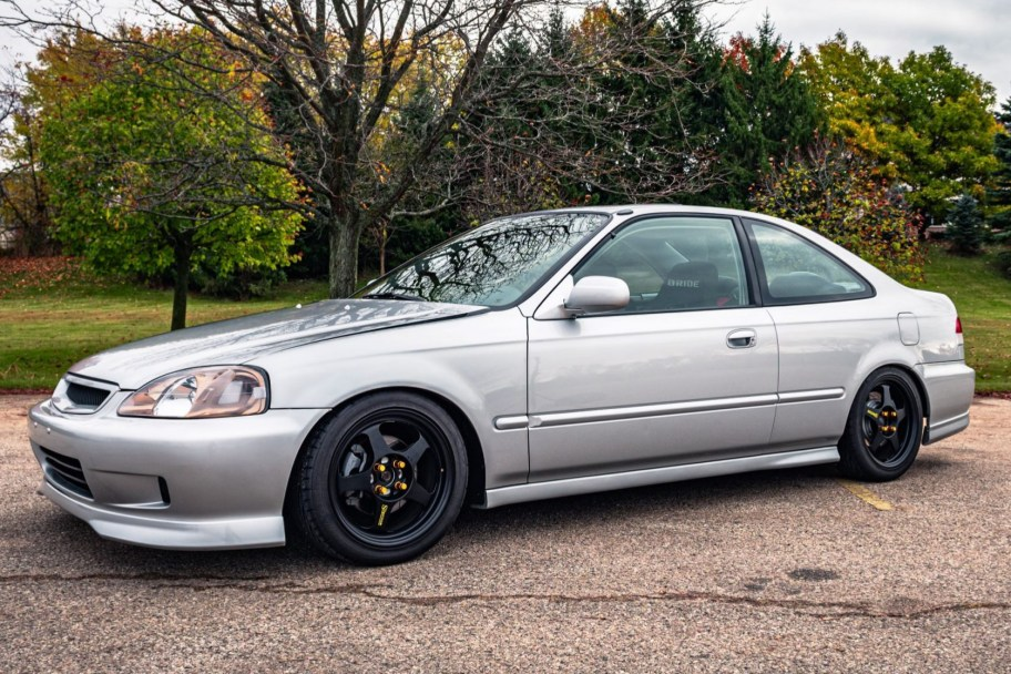 No Reserve: Modified 2000 Honda Civic EX Coupe 5-Speed