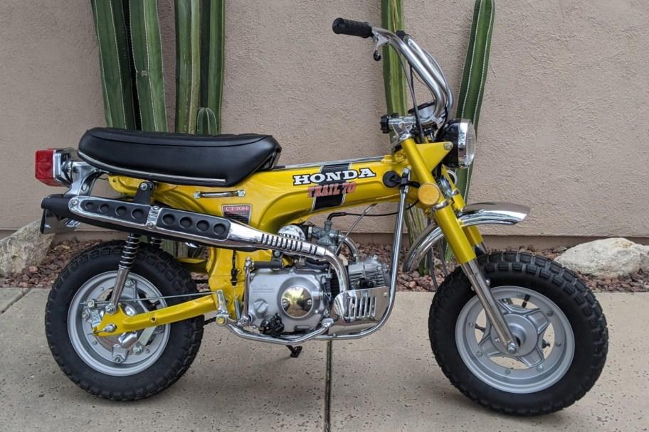 No Reserve: 1972 Honda CT70H Trail