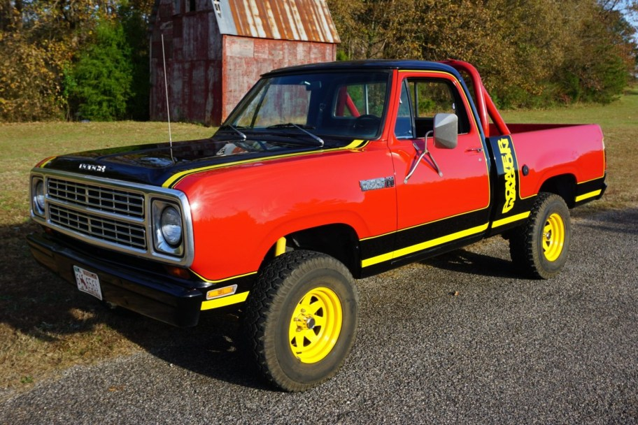 1979 Dodge Power Wagon Macho W150 4-Speed 4x4
