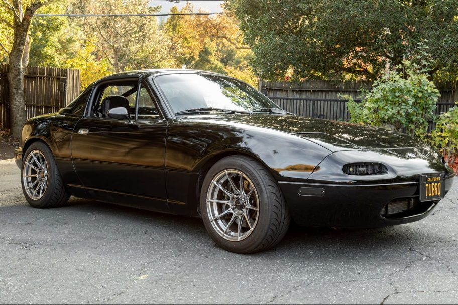 No Reserve: Turbocharged 1995 Mazda MX-5 Miata