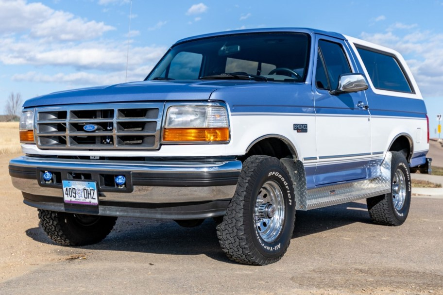 No Reserve: 1996 Ford Bronco XLT 4x4