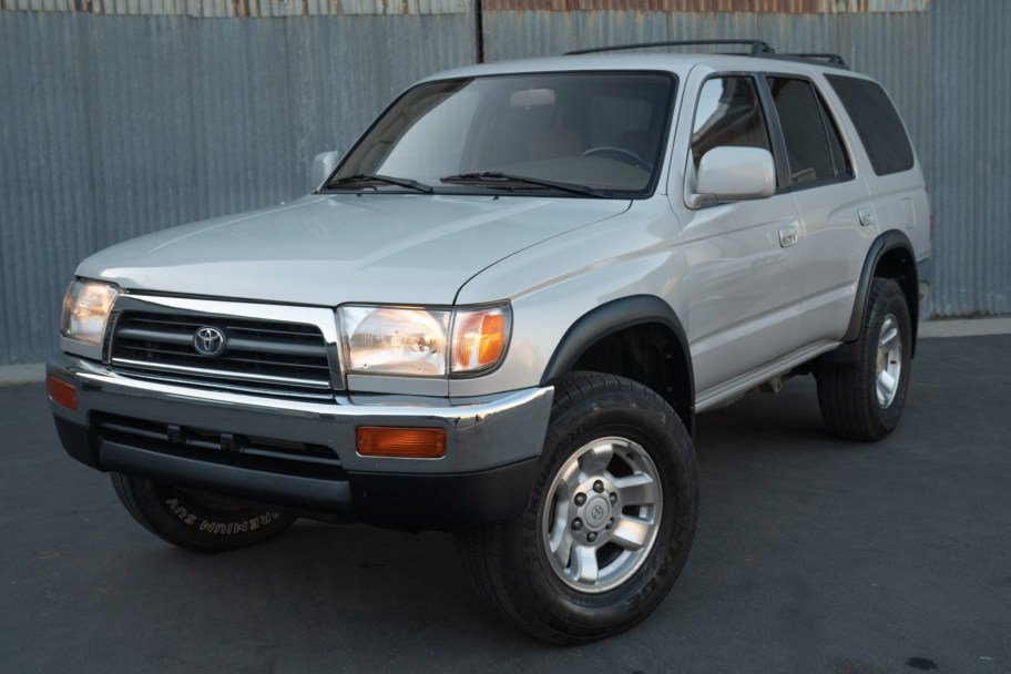 No Reserve: 1996 Toyota 4Runner 4x4 5-Speed