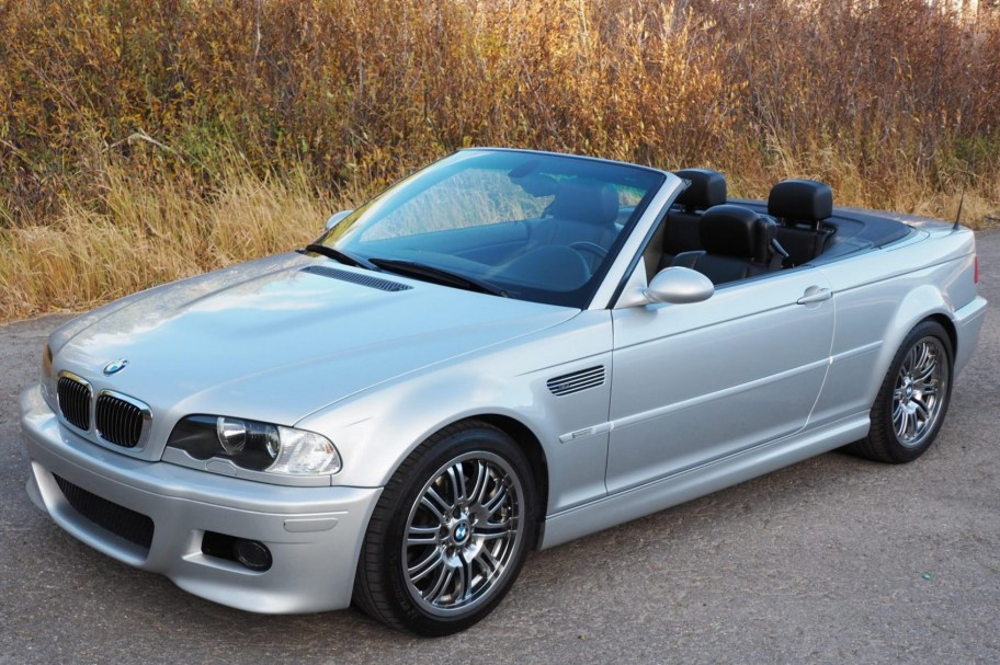 47k-Mile 2001 BMW M3 Convertible 6-Speed