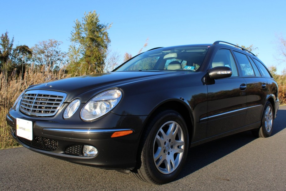 No Reserve: 36k-Mile 2004 Mercedes-Benz E320 4Matic Wagon