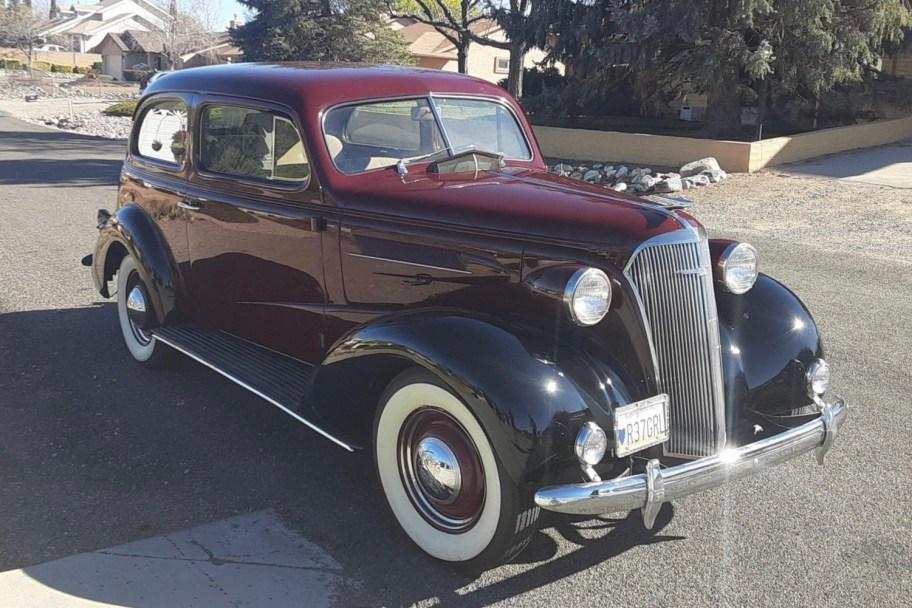 1937 Chevrolet Master Town Sedan