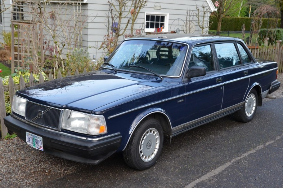 No Reserve: One-Owner 1989 Volvo 240 DL