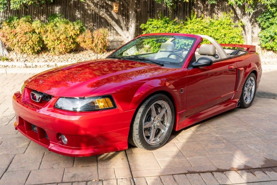 4k mile 2001 ford mustang gt roush stage 3 convertible