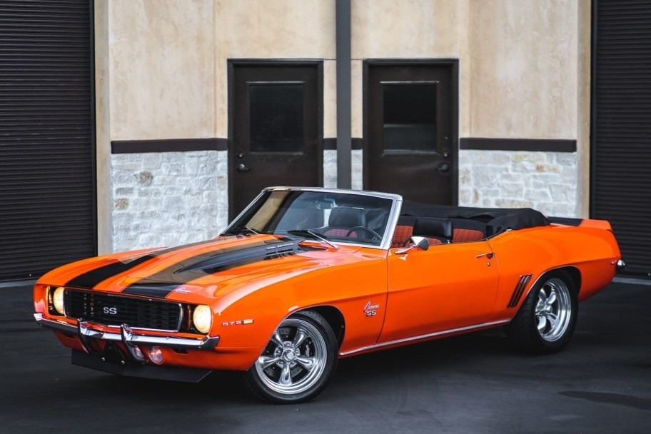 572-Powered 1969 Chevrolet Camaro Convertible 5-Speed