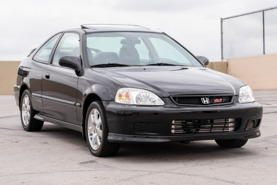 No Reserve: Turbocharged 1999 Honda Civic Si 5-Speed
