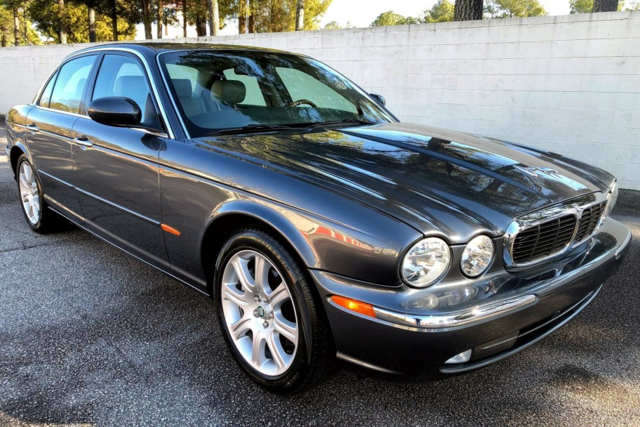 No Reserve: 15k-Mile 2004 Jaguar XJ8