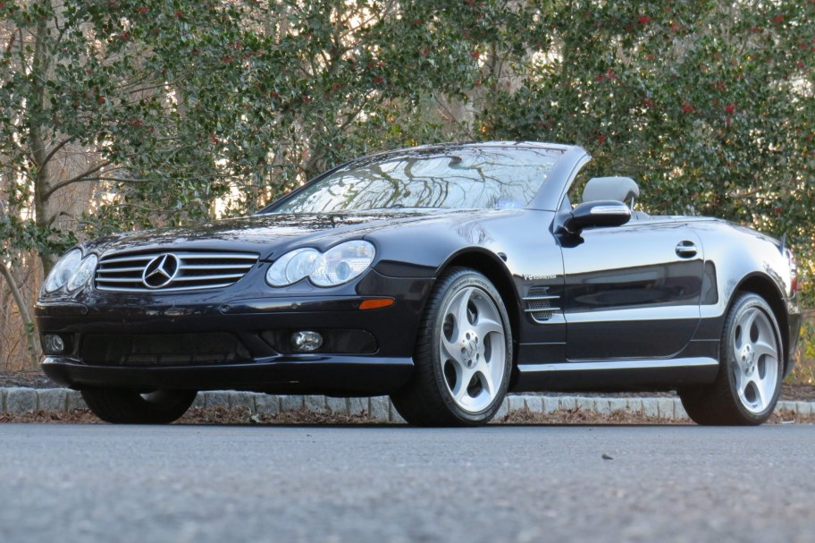 No Reserve: 28k-Mile 2004 Mercedes-Benz SL55 AMG