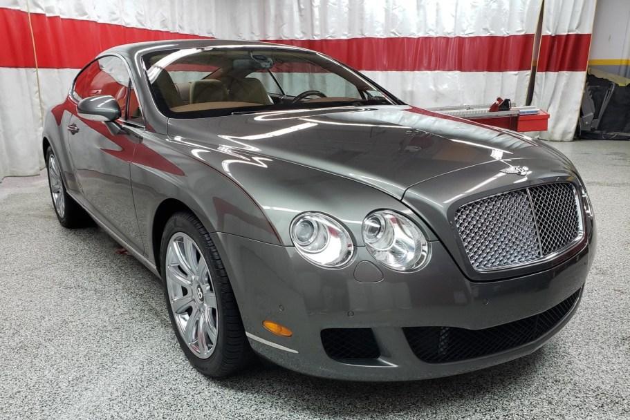 No Reserve: 25k-Mile 2009 Bentley Continental GT
