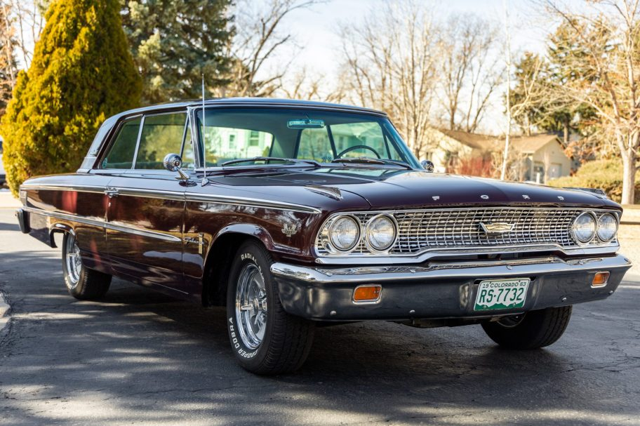 One-Family-Owned G-Code 1963 Ford Galaxie 500 428ci 4-Speed