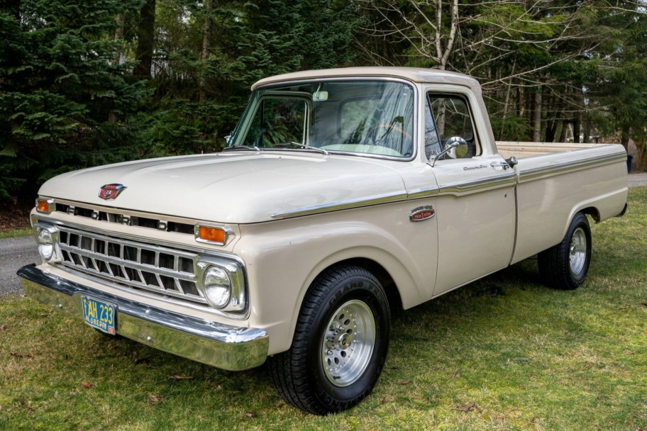 24-Years-Owned 1965 Ford F-100 Project