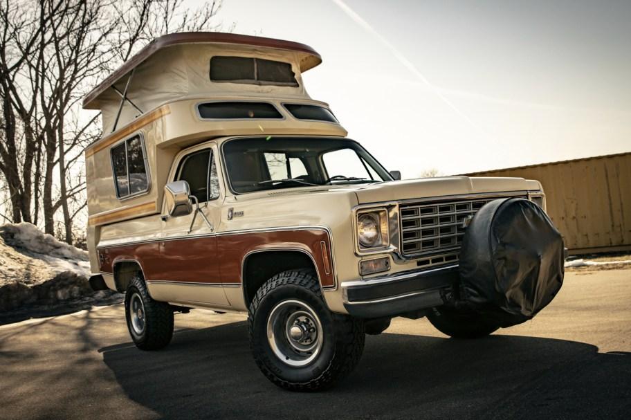 1976 Chevrolet K5 Blazer Cheyenne Chalet Camper
