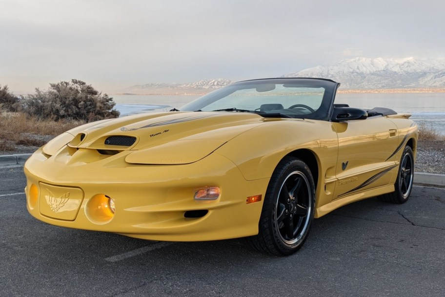 3,600-Mile 2002 Pontiac Firebird Trans Am WS6 Convertible 6-Speed