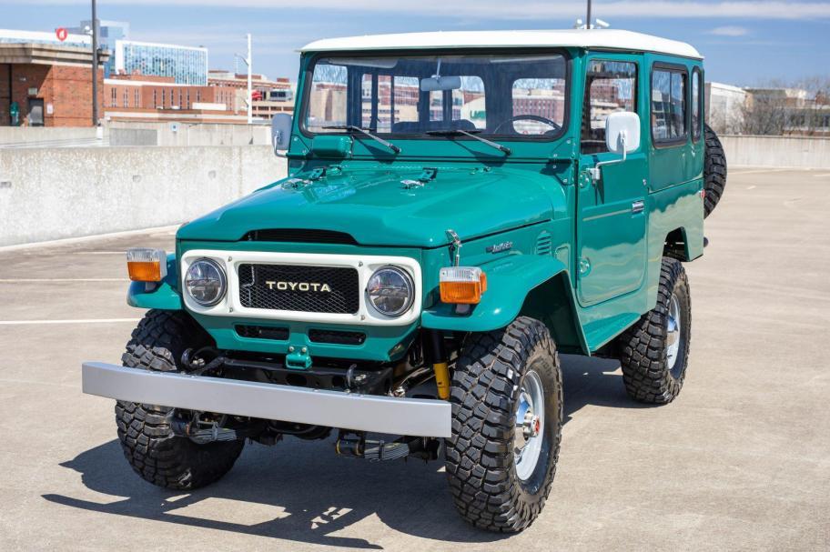 No Reserve: 1978 Toyota Land Cruiser FJ43