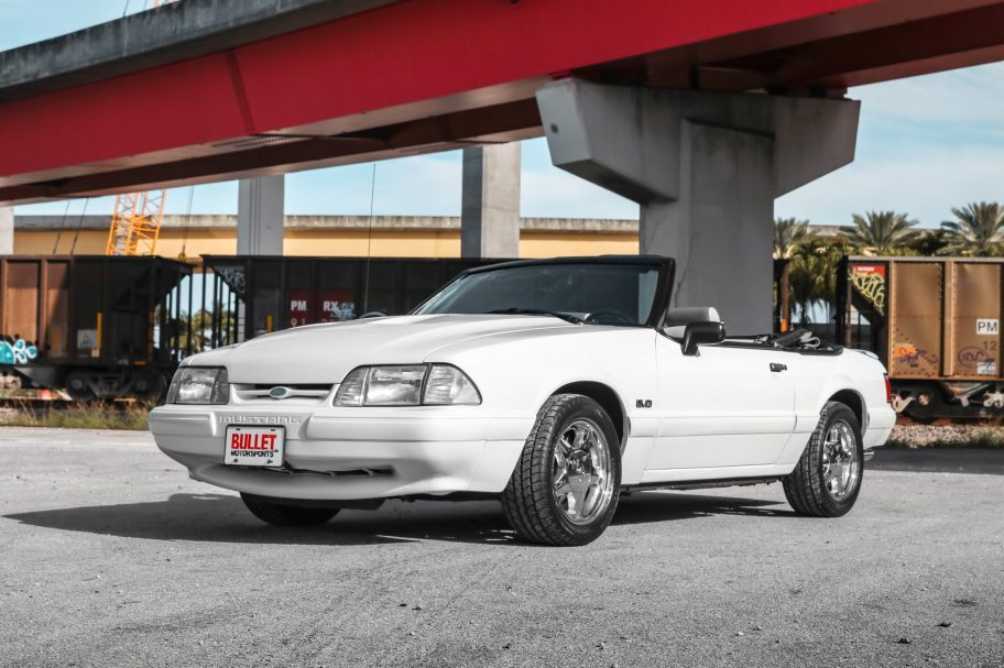 No Reserve: 1991 Ford Mustang LX 5.0 Convertible