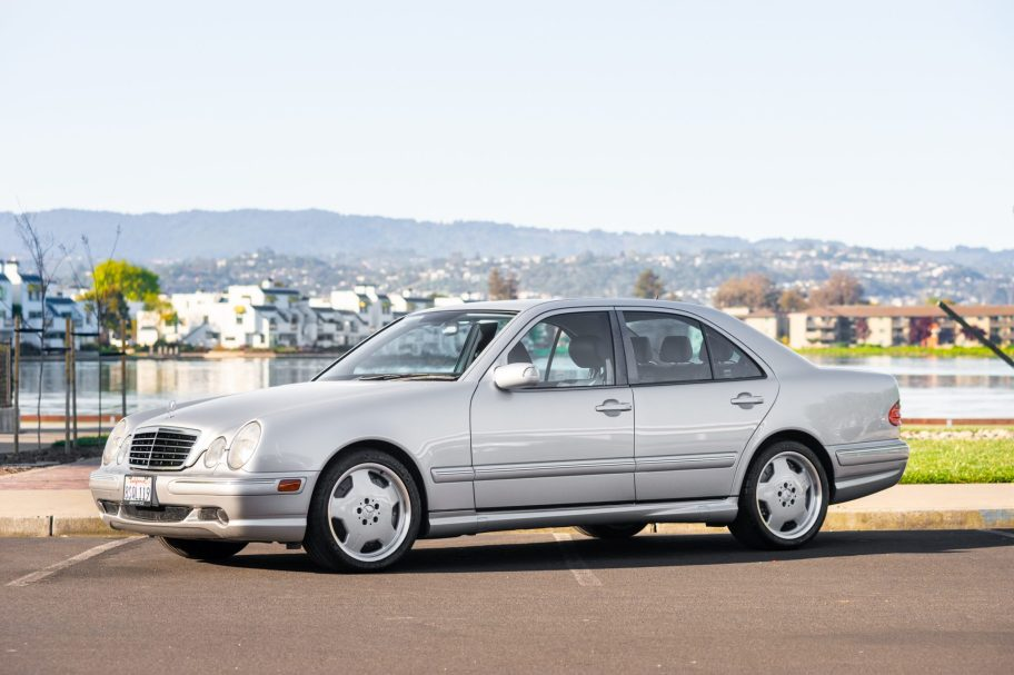 No Reserve: 2001 Mercedes-Benz E55 AMG