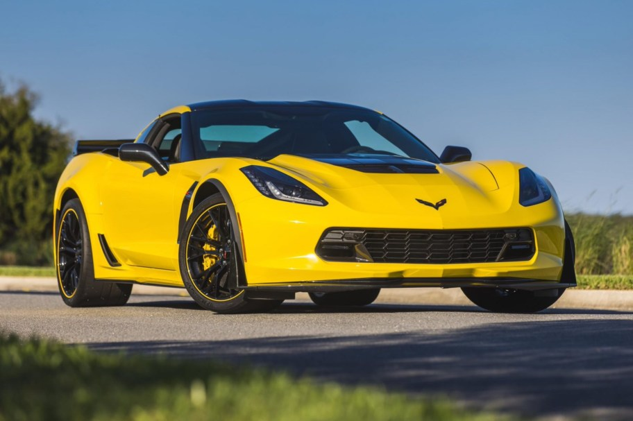 3k-Mile 2016 Chevrolet Corvette Z06 C7.R Edition