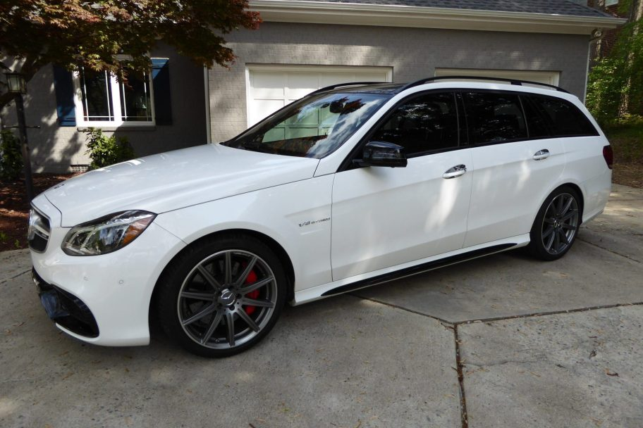 No Reserve: 19k-Mile 2015 Mercedes-Benz E63S AMG Wagon