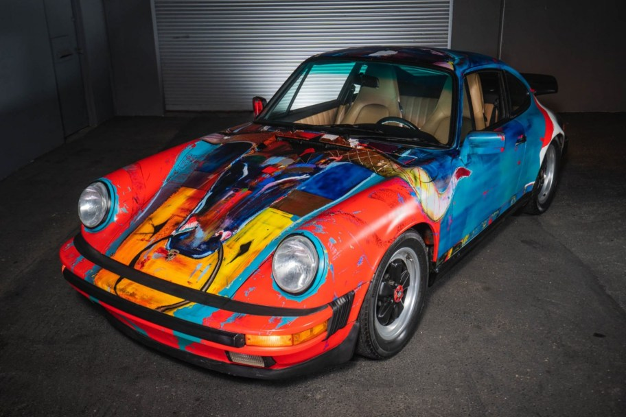 1989 Porsche 911 Carrera Art Car by Dominic Besner