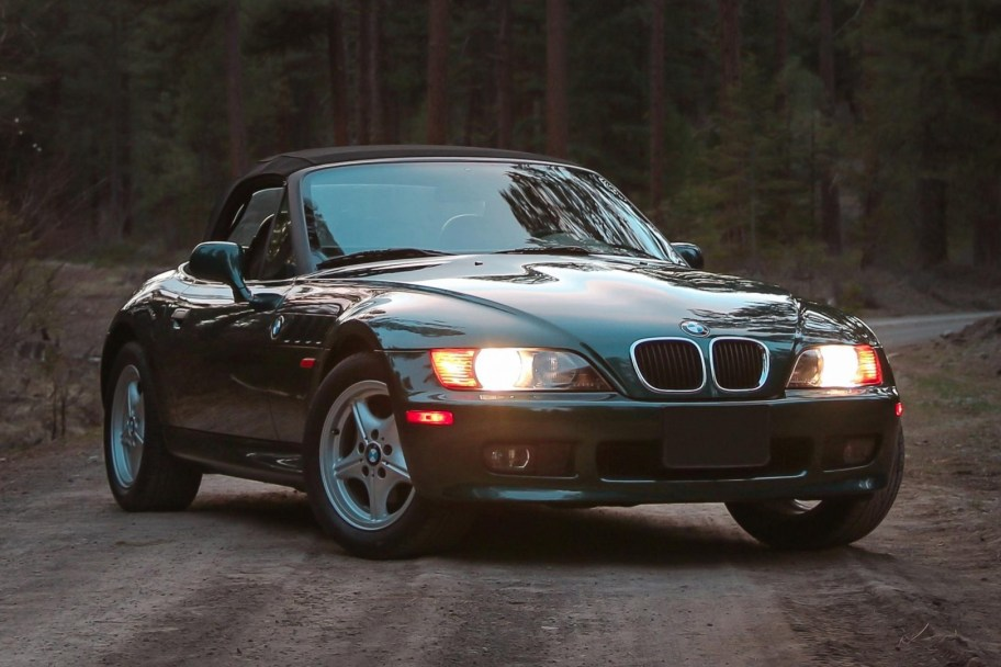 No Reserve: 46k-Mile 1997 BMW Z3 1.9 5-Speed