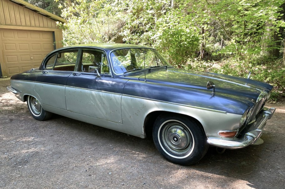 No Reserve: 35-Years-Owned 1964 Jaguar MK X Project